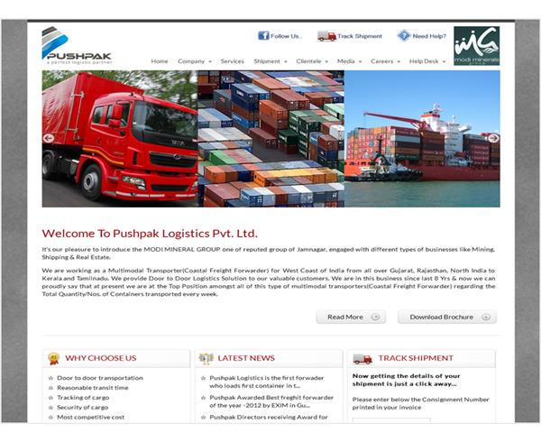 Pushpak Logistics